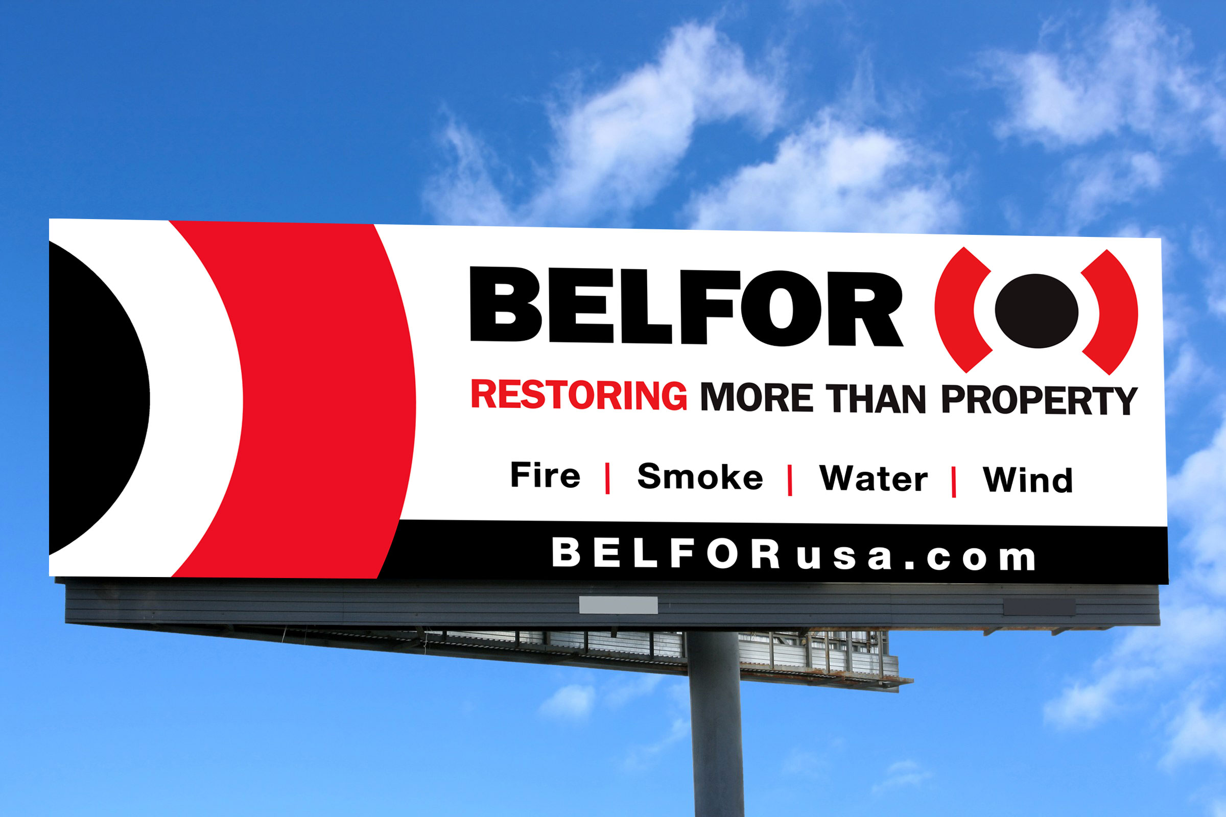 BELFOR Billboard