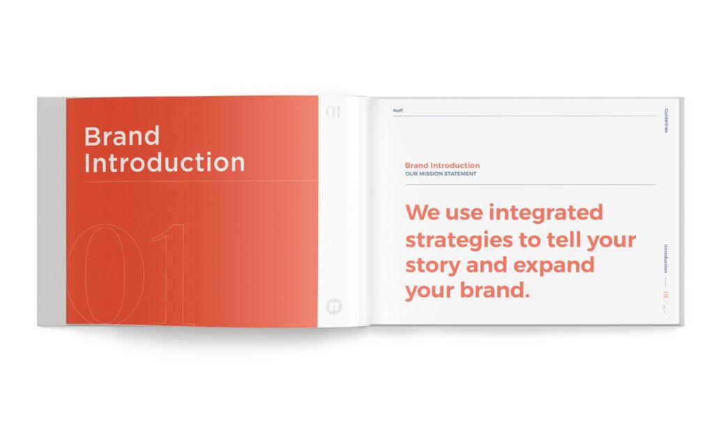 brand guidelines, brand agency, build your brand, brand messaging, neff branding